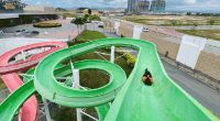 The Body Slide is a classic open-air waterslide.