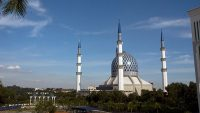 The mosque is also known as Masjid Biru Shah Alam or the Shah Alam Blue Mosque.