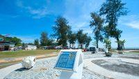 Take in the sea breeze at the esplanade at Dataran Pantai Morib.