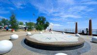 Another angle of the esplanade at Dataran Pantai Morib.