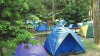 The Perah Campsite pictured on location at FRIM.