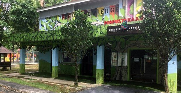 Perpustakaan Anggerik Vanilla