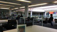 The spacious interior of Perpustakaan Raja Tun Uda.